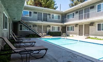 Pool, The Pavillion Apartments, 2