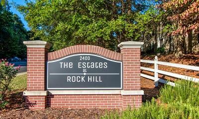 Community Signage, Estates at Rock Hill, 0