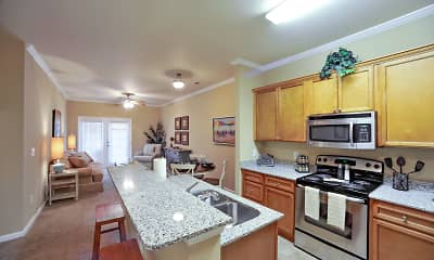 Kitchen, Palisades of Jacksonville Apartments, 1