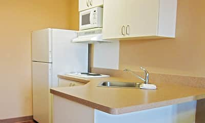Kitchen, Furnished Studio - Sacramento - White Rock Rd., 1