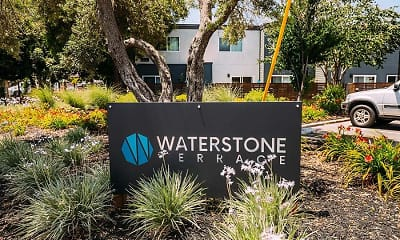 Community Signage, Waterstone Terrace Apartments, 0