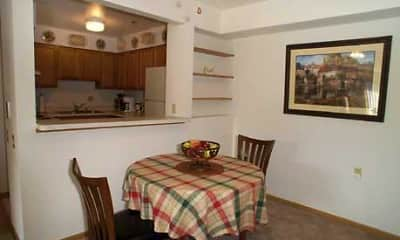 Dining Room, Shagbark Apartments, 2
