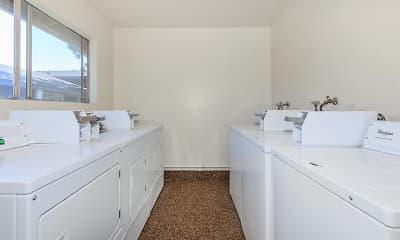 Bathroom, Fashion Square Apartments, 2