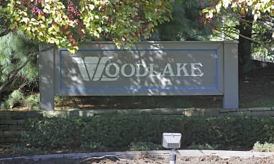 Community Signage, Woodlake Apartments, 2