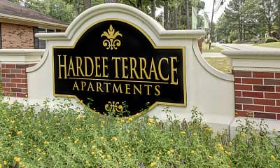 Community Signage, Hardee Terrace Apartments, 0