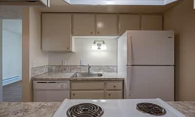 Kitchen, Brookshire Townhome Apartments, 1