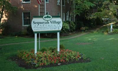 Community Signage, Sequoyah Village, 2