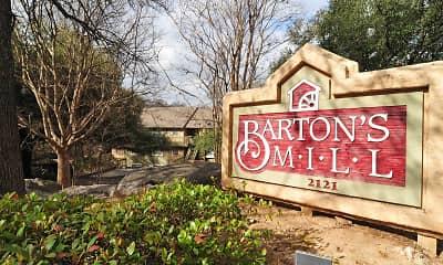 Community Signage, Barton's Mill, 1