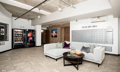 Living Room, T-Lofts Apartments, 2