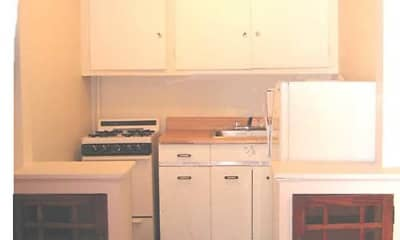 Kitchen, Gracen Court Apartments, 1
