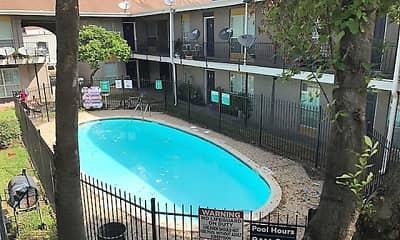 Pool, Santa Monica, 1