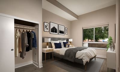 Bedroom, Venice on Rose, 1