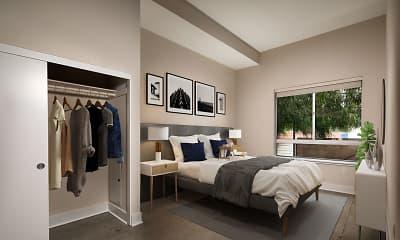 Bedroom, Venice on Rose, 1