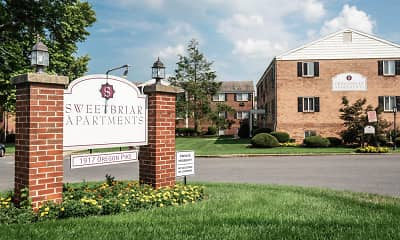 Community Signage, Sweetbriar Apartments, 2