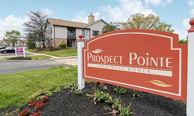 Community Signage, Prospect Pointe Apartment Homes, 2