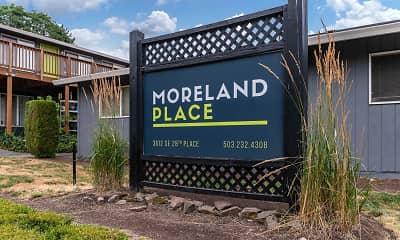 Community Signage, Moreland Place, 0