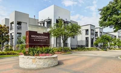 Community Signage, Broadstone Memorial Park Apartment, 0
