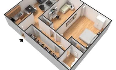 Rivergate Apartments, 0
