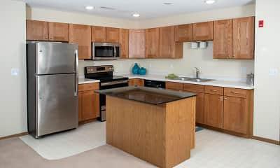 Kitchen, The Legacy Apartments, 1