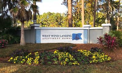 Community Signage, West Wind Landing, 2