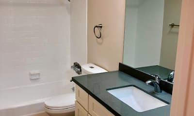 Bathroom, Towne Center Apartments, 2