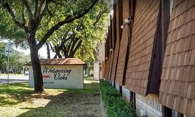 Community Signage, Whispering Oaks Apartments, 0