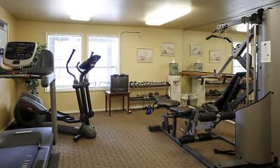 Fitness Weight Room, Brighton Place, 1
