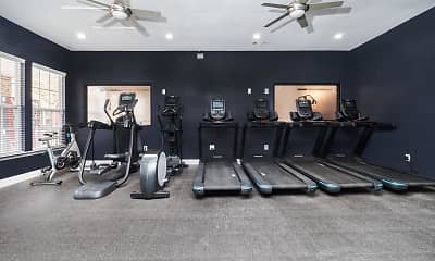 Fitness Weight Room, Village Green, 2