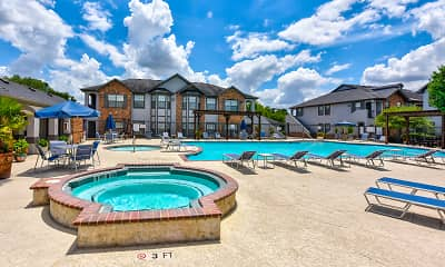 Pool, Saddle Brook Apartments, 0