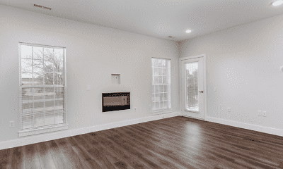 Living Room, Baytowne Apartments, 1