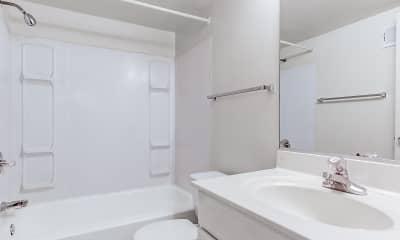Bathroom, Dulles Glen, 2