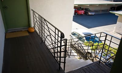 Patio / Deck, Bayo Vista Apartments, 2
