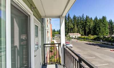Patio / Deck, Cedar Pointe Senior Apartments, 2