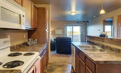 Kitchen, Sidney Apartments, 0