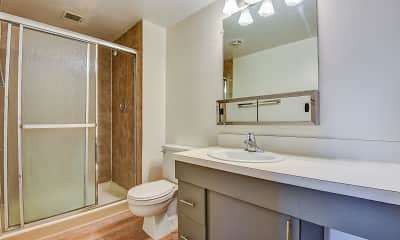 Bathroom, Concierge Apartments, 2