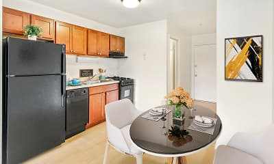 Kitchen, RiverStone Apartments, 1