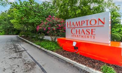 Community Signage, Hampton Chase Apartments, 2