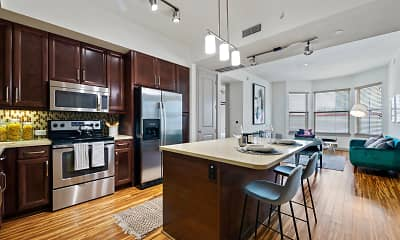 Kitchen, Gables Uptown Trail, 1