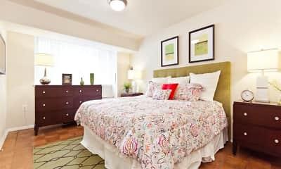 Bedroom, Serrano Apartments, 2