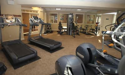 Fitness Weight Room, Heritage Orchard Hill, 2