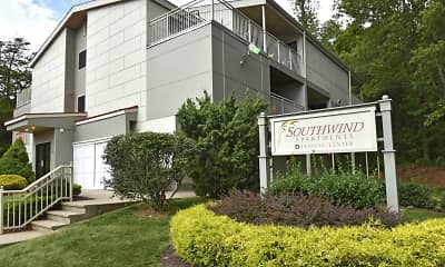 Community Signage, Southwind Apartments, 0
