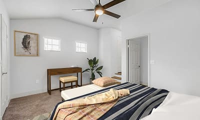 Bedroom, Promenade at Aventura Apartments, 2