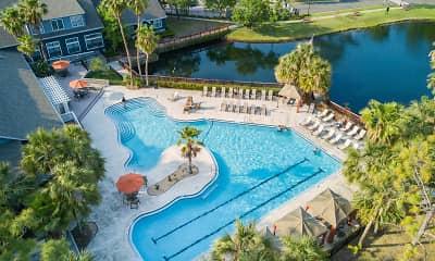 Pool, Kernan Oaks Apartments, 0