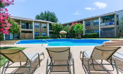 Pool, Colony Apartments, 0