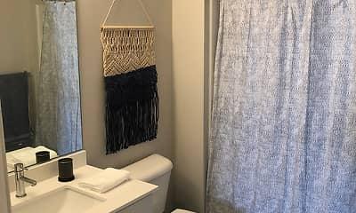 Bathroom, Manseau Flats Apartment Building, 2