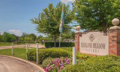 Community Signage, Highland Meadow Village, 0