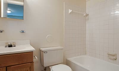 Bathroom, Butler Ridge, 2