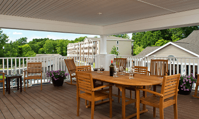 Patio / Deck, Glenmont Abbey Village - 55+ Living, 1
