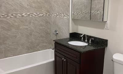 Bathroom, Wayside Apartments, 2