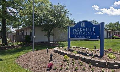 Community Signage, Parkville Apartments, 2